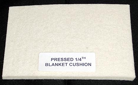 Pressed 1/4, Blanket-Cushion, 24 Wide/per yd.