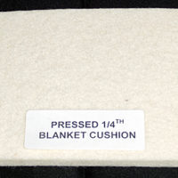 Pressed 1/4, Blanket-Cushion, 36 Wide/per yd.