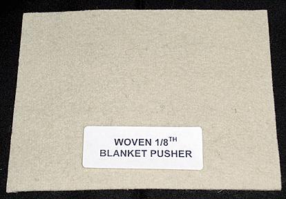 Woven 1/8, Blanket-Pusher, 36 Wide/per yd.