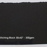 "Black, 31.50x47"" - 300 gsm"