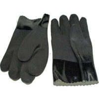 Rough Finish PVC Gloves